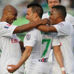 Cosmos Celebrate Win Over Atlanta