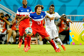 USAs Jermaine Jones