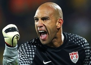 USA Goalkeeper Tim Howard