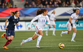 France Blanks U.S. WNT With Second Half Goals
