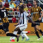West Bromwich Albion 2, Charleston Battery 1