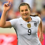 USA's Goalscorer Lindsey Horan