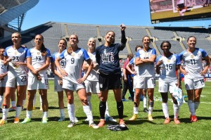 U.S. WNT Tops South Africa In Olympic Prep