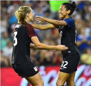 USWNT Rolls To 4-0 Shutout Over Costa Rica