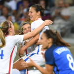 Carli Lloyd Receives Congratulations