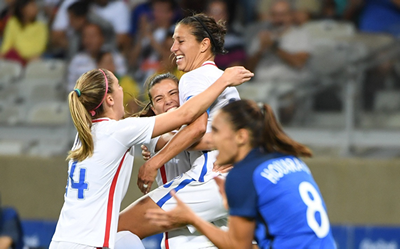 Lloyd's Goal Gives USA 1-0 Win Over France