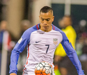 USA Striker Bobby Wood