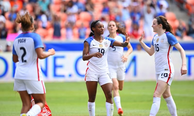 USA WNT Rolls To Dominate 5-1 Victory