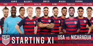 USMNT Advance, And Help is On The Way