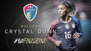 N.C. Courage Acquires Crystal Dunn