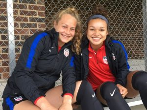 USA U20s Advance To Semifinals