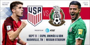 USMNT To Host Mexico In Nashville
